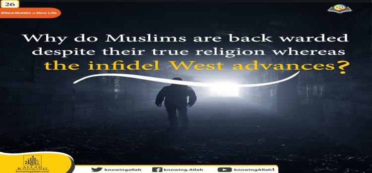 the infidel West progressed