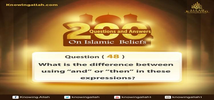 Q 48: What is the difference between