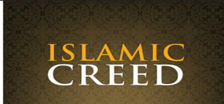 What is Islamic creed?