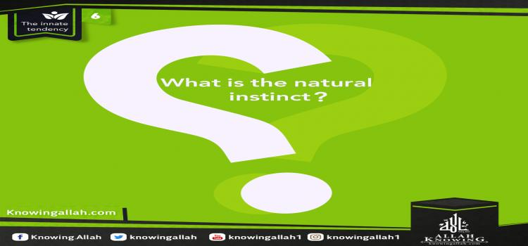 What is the natural instinct
